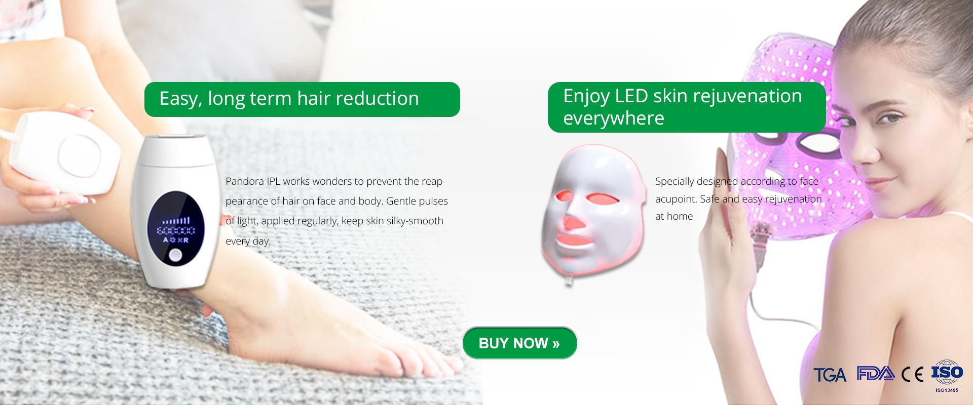 LED facemask