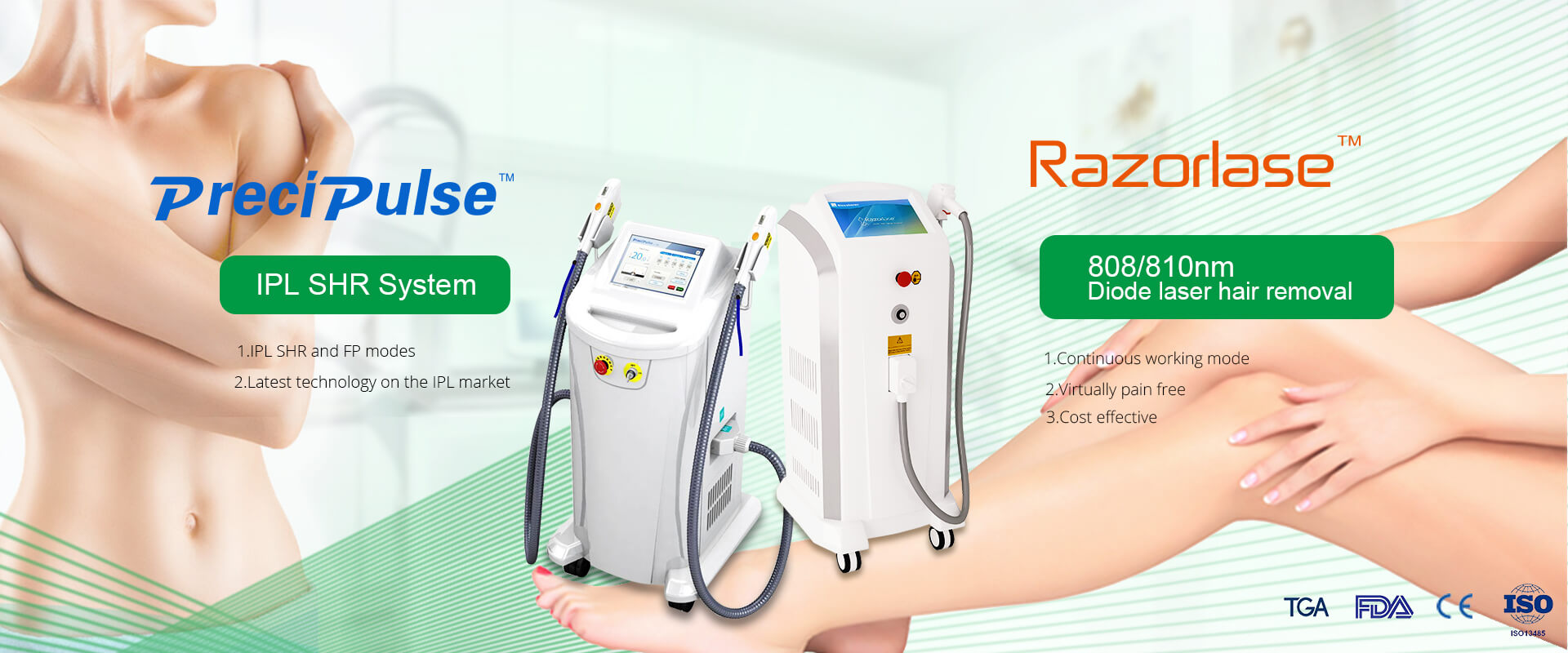 Diode Laser Hair Removal Series
