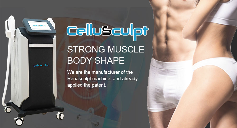 CelluSculpt HI-EMT weight loss and musle building machine