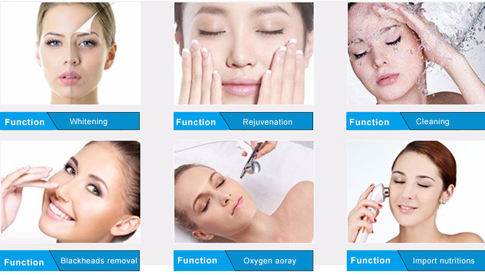 6 in 1 Multi-Functional Facial Device