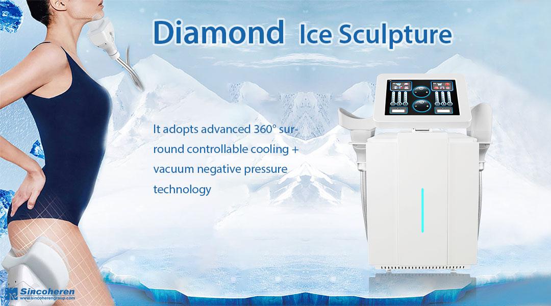Diamond Ice Sculpture body slimming
