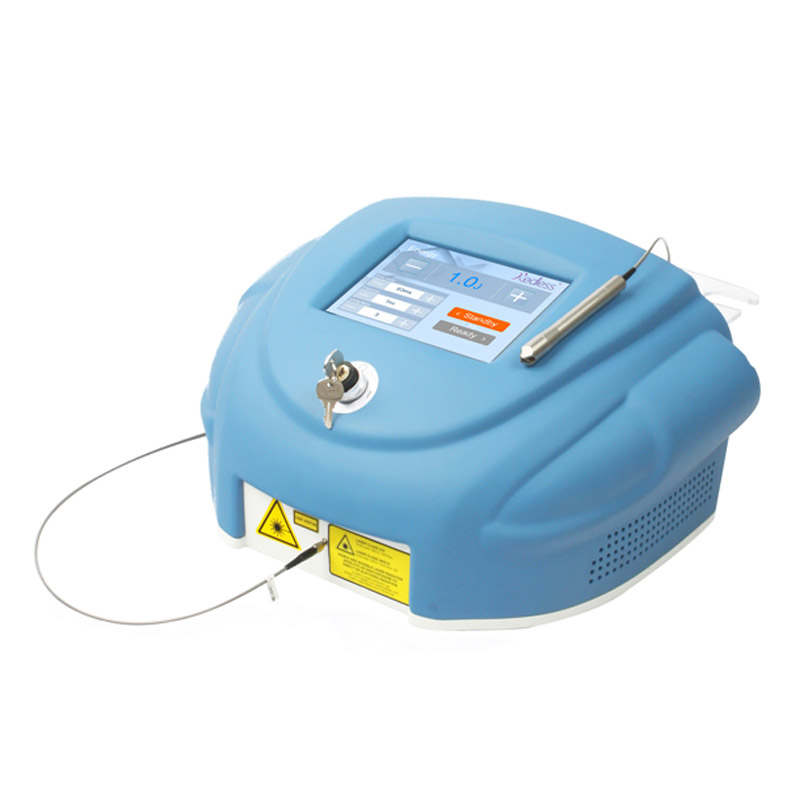 980nm Diode Laser Vascular Veins Removal Machine