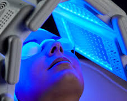 PDT LED light therapy