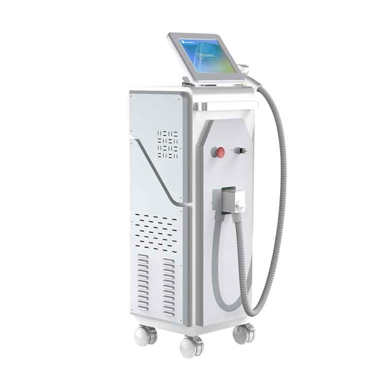 New design 755+808+1064nm diode laser